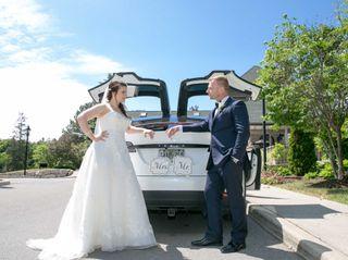 The wedding of Eva and Alex
