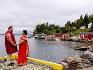 The wedding of Nivedita and Robert