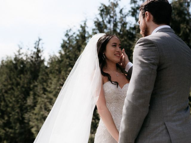 Lexi and Kyler's wedding in Agassiz, British Columbia 12