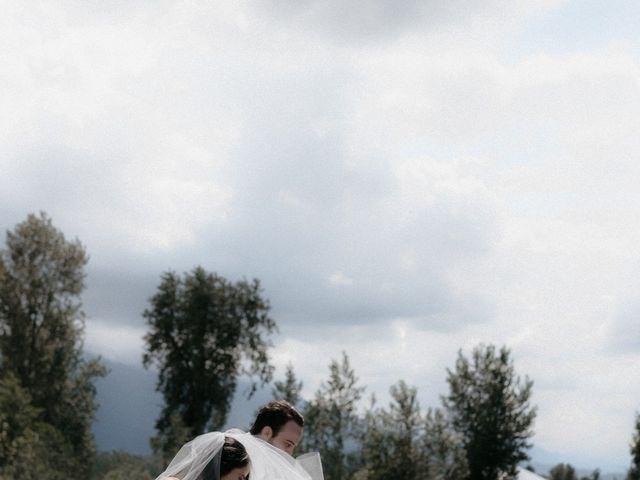 Lexi and Kyler's wedding in Agassiz, British Columbia 14