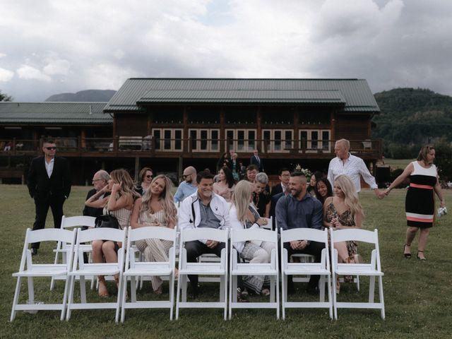 Lexi and Kyler's wedding in Agassiz, British Columbia 42