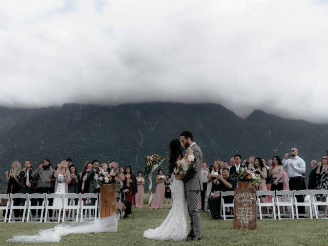Lexi and Kyler's wedding in Agassiz, British Columbia 1