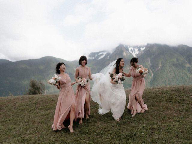 Lexi and Kyler's wedding in Agassiz, British Columbia 2