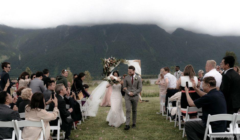 Lexi and Kyler's wedding in Agassiz, British Columbia