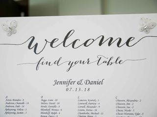The wedding of Jennifer and Dan 2