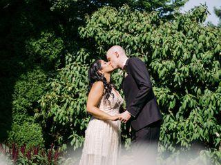 The wedding of Amrita and Craig