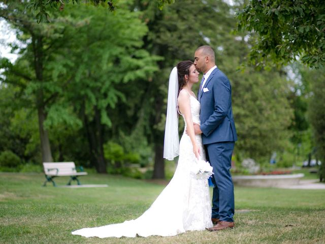 The wedding of Jennifer and Dan