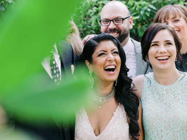 Craig and Amrita's wedding in Vancouver, British Columbia 16