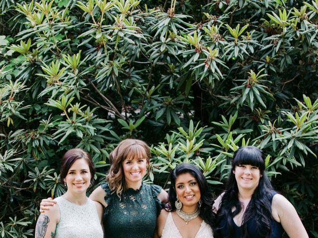 Craig and Amrita's wedding in Vancouver, British Columbia 18
