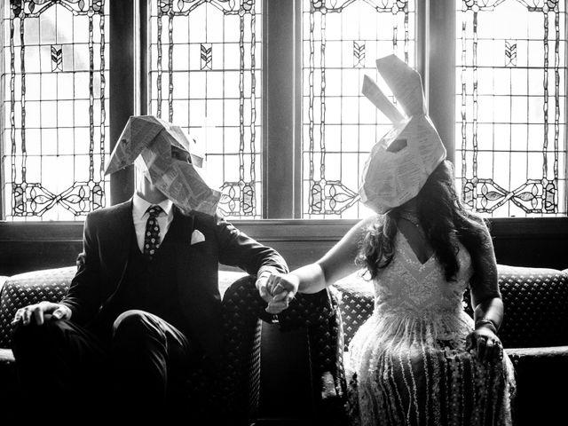 Craig and Amrita's wedding in Vancouver, British Columbia 44