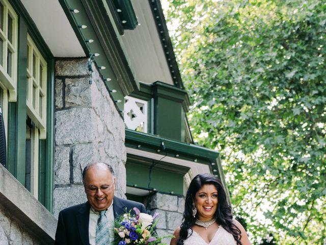 Craig and Amrita's wedding in Vancouver, British Columbia 62