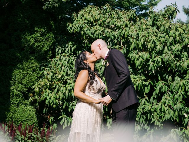 The wedding of Amrita and Craig