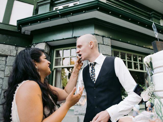 Craig and Amrita's wedding in Vancouver, British Columbia 121