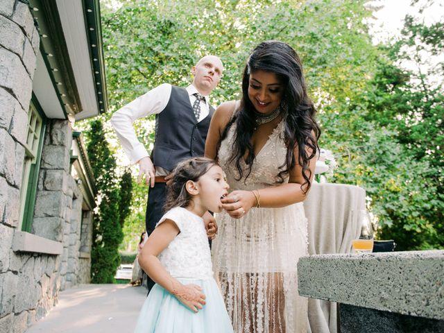 Craig and Amrita's wedding in Vancouver, British Columbia 123