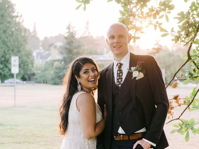 Craig and Amrita's wedding in Vancouver, British Columbia 139