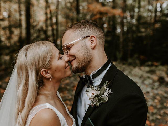 The wedding of Melissa and Benjamin