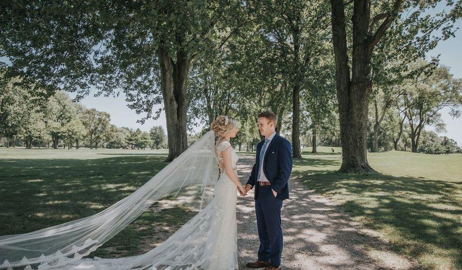 Tucker and Alyshia's wedding in Chatham-Kent, Ontario
