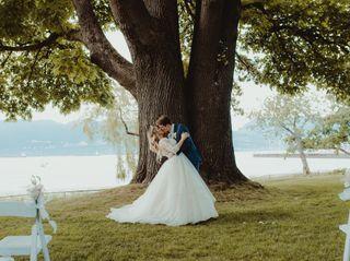 The wedding of Alexandra  and Brandon