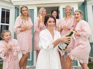 The wedding of Samantha and Josh 1