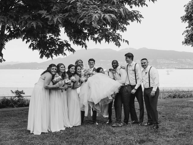 Brandon  and Alexandra 's wedding in Vancouver, British Columbia 5