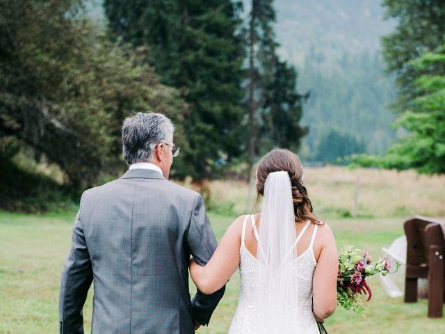 Jesse and Jane's wedding in Lumby, British Columbia 32
