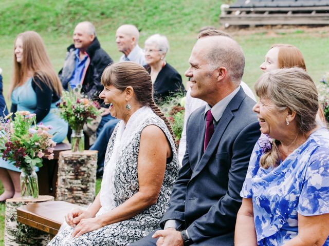 Jesse and Jane's wedding in Lumby, British Columbia 36