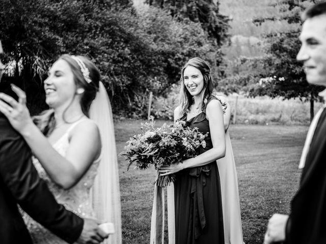 Jesse and Jane's wedding in Lumby, British Columbia 42