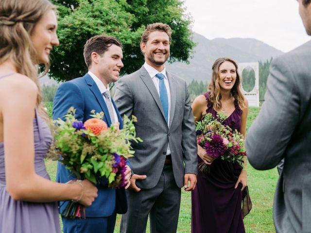Jesse and Jane's wedding in Lumby, British Columbia 45