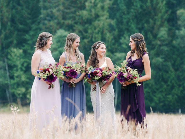 Jesse and Jane's wedding in Lumby, British Columbia 2
