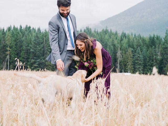 Jesse and Jane's wedding in Lumby, British Columbia 61