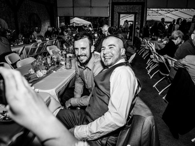 Jesse and Jane's wedding in Lumby, British Columbia 106