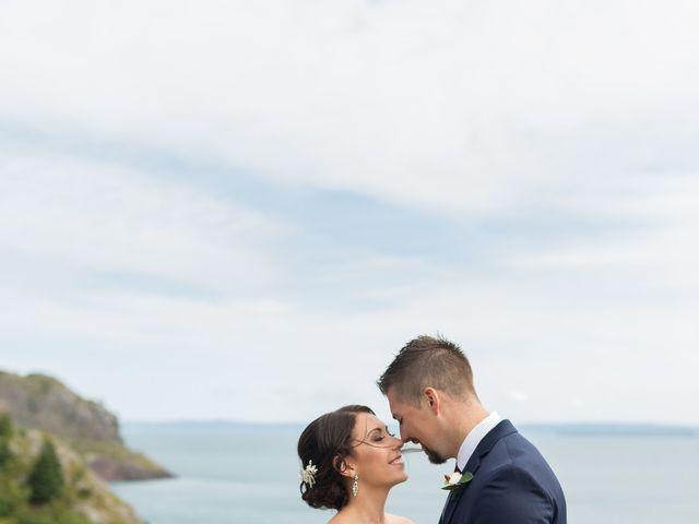 Josh and Samantha's wedding in Brigus, Newfoundland and Labrador 1