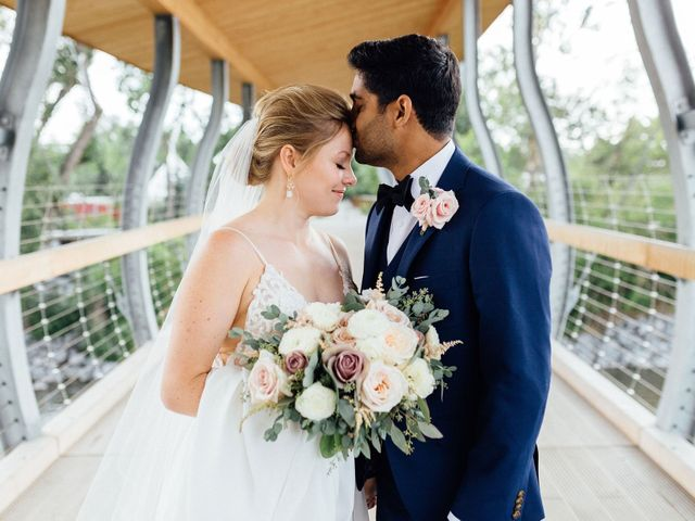 Jason and Jill's wedding in Calgary, Alberta 13