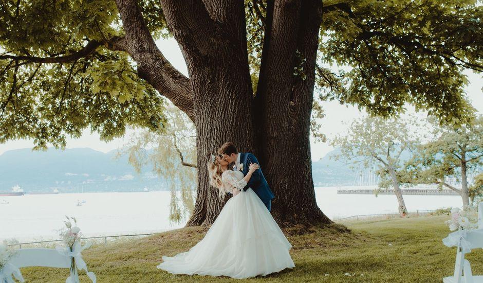 Brandon  and Alexandra 's wedding in Vancouver, British Columbia