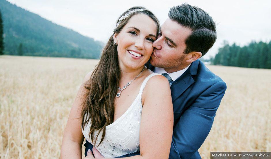 Jesse and Jane's wedding in Lumby, British Columbia