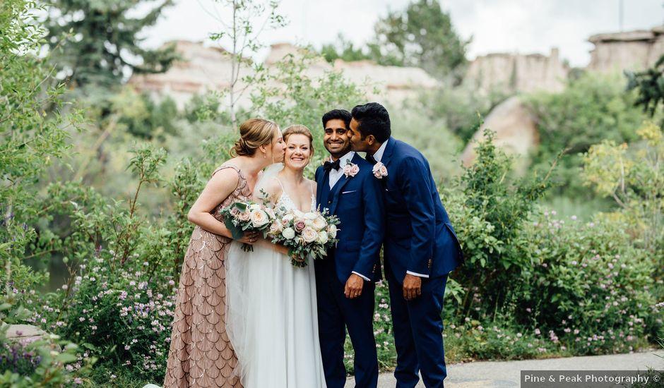 Jason and Jill's wedding in Calgary, Alberta
