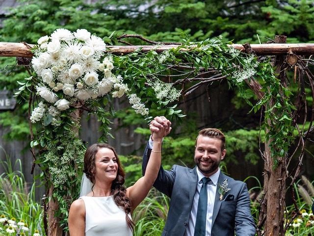The wedding of Roxanne and Christopher