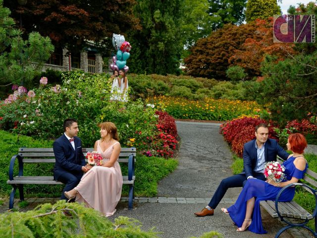 Jean and Mihaela's wedding in Vancouver, British Columbia 6
