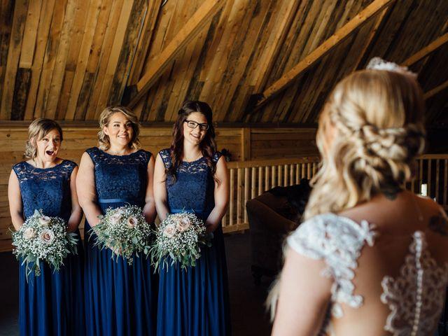 Kyle and Kelsie's wedding in Olds, Alberta 4