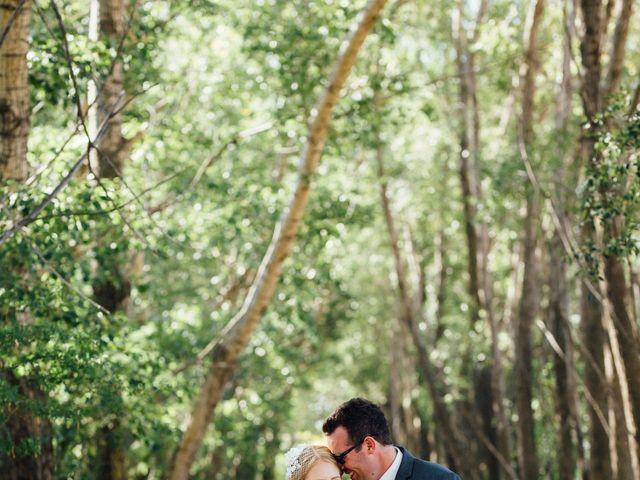 Kyle and Kelsie's wedding in Olds, Alberta 6