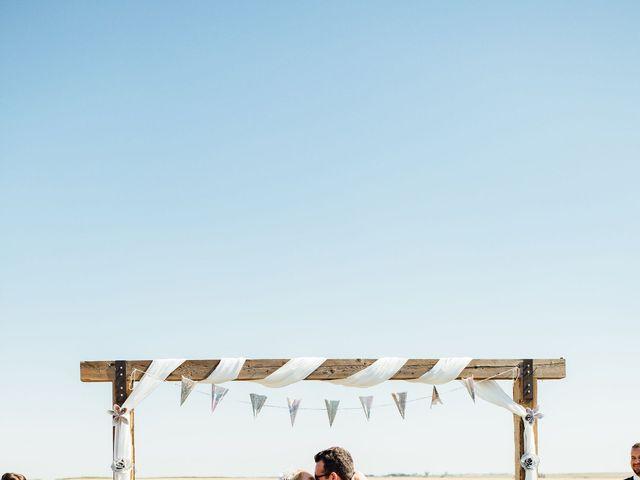 Kyle and Kelsie's wedding in Olds, Alberta 1