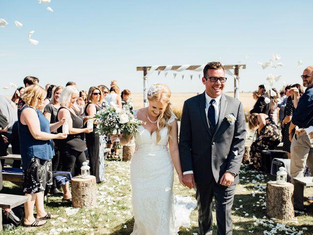 Kyle and Kelsie's wedding in Olds, Alberta 12