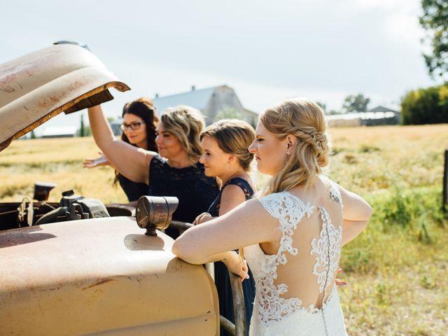 Kyle and Kelsie's wedding in Olds, Alberta 22