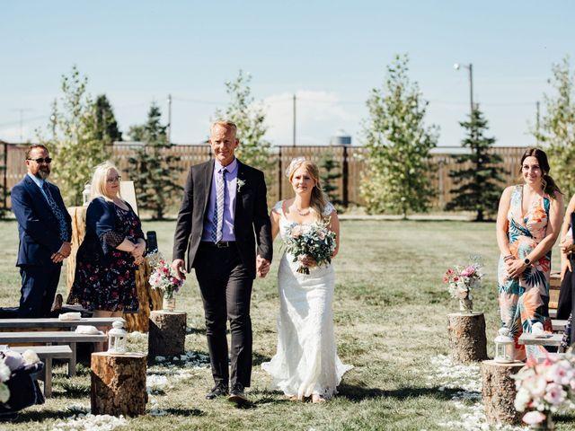 Kyle and Kelsie's wedding in Olds, Alberta 24