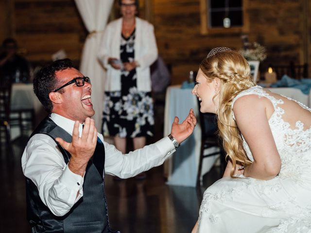 Kyle and Kelsie's wedding in Olds, Alberta 32