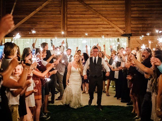 Kyle and Kelsie's wedding in Olds, Alberta 35