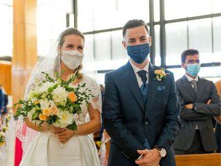 The wedding of Dani and Marti 1