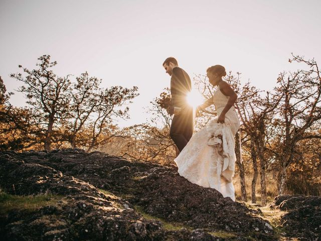 Teleza and Bert's wedding in Vancouver Island, British Columbia 46