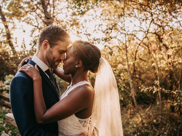 The wedding of Bert and Teleza