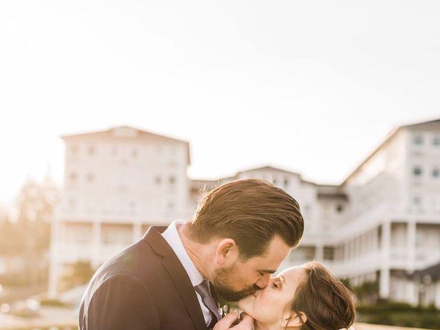 Matt and Allie's wedding in Sooke, British Columbia 4